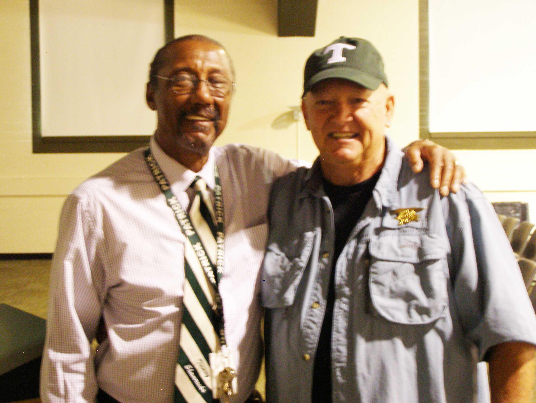 Mr. Steve Ferman and SFC Rudy Davis